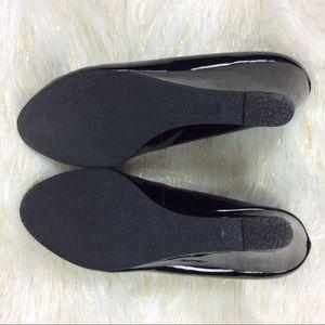 932b83ac8b74 Nine West Shoes - Nine West Jessa Black Patent Wedges 9.5M